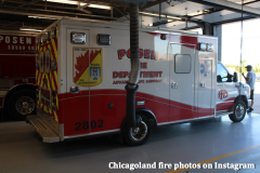 Chicagoland fire photos on Instagram