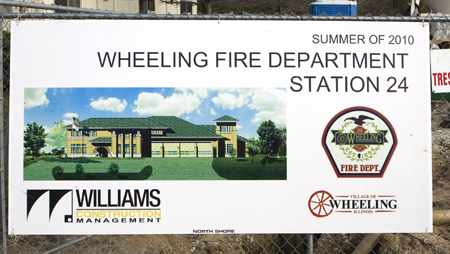 Artist rendering of Wheeling''s new headquarters station 24