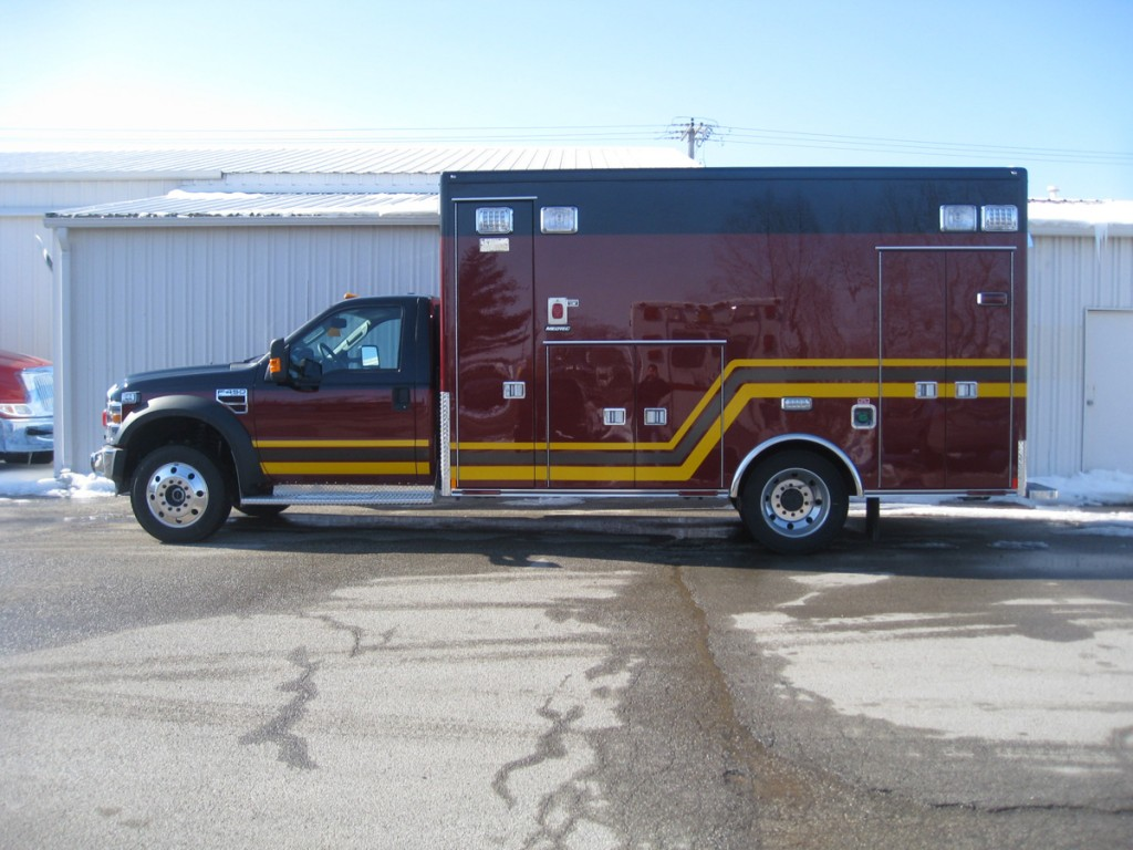 Troy FPD Medtec ambulance