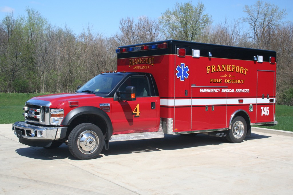 Frankfort FPD Ambulance 4