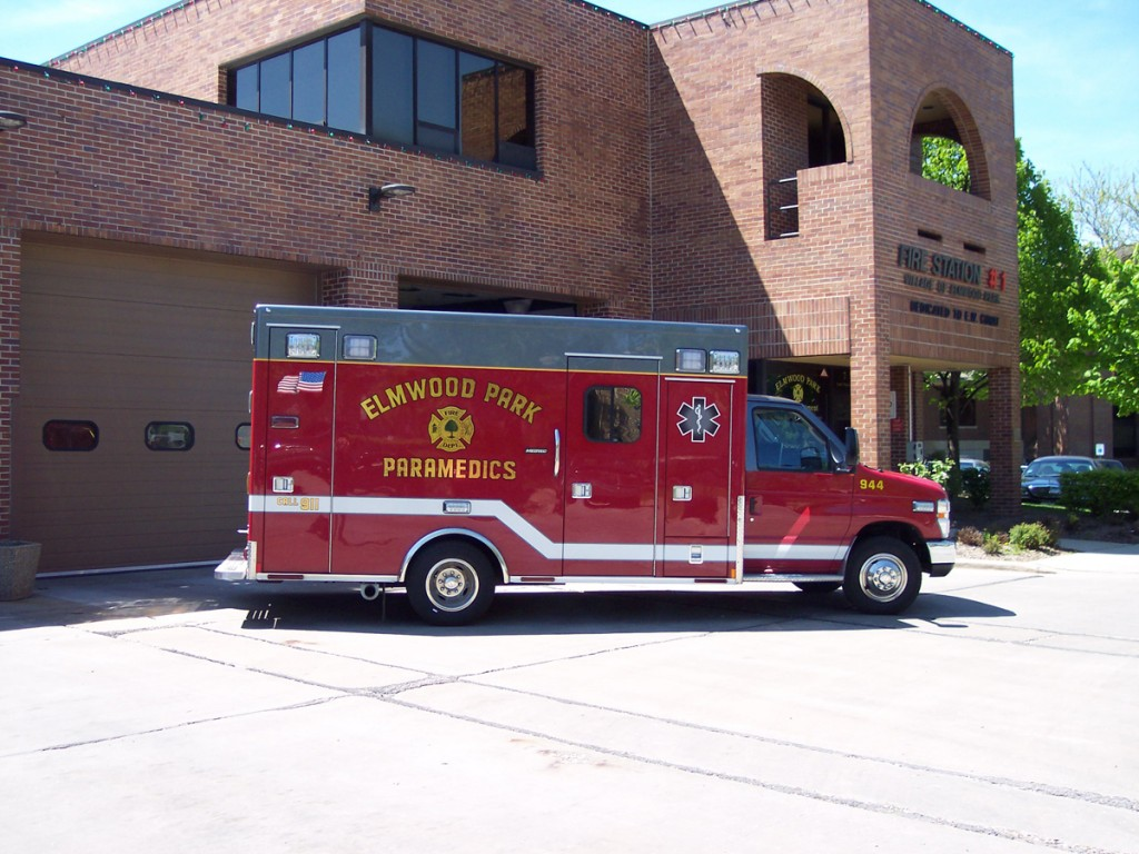 Elmwood Park Medtec ambulance