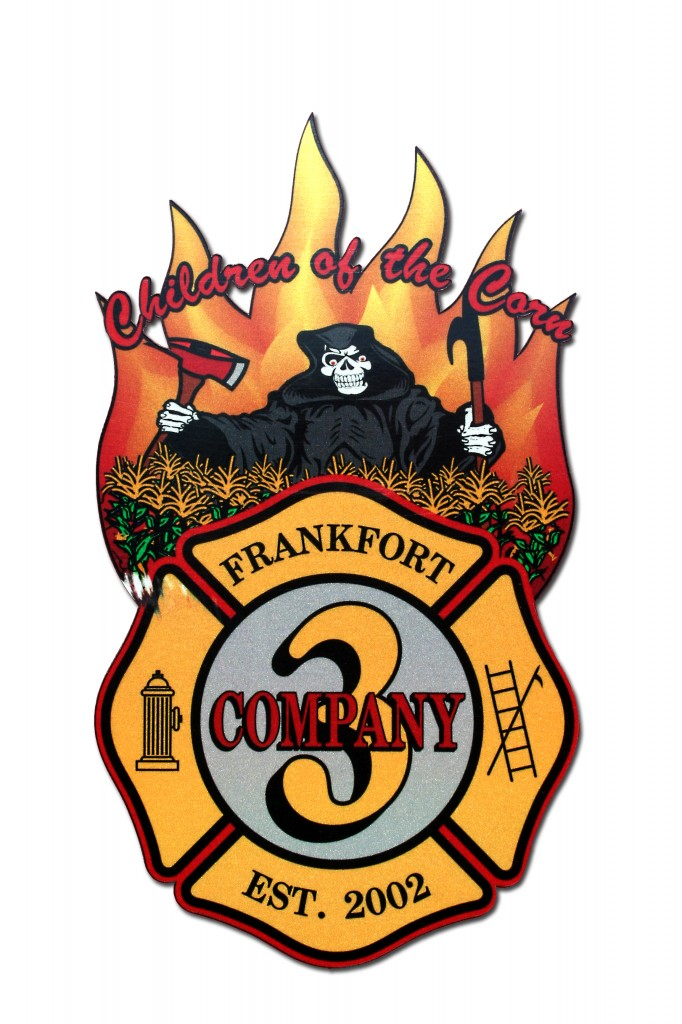 Frankfort FPD Company 3 decal