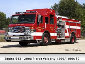 Pierce Velocity engine Fox River Grove FPD