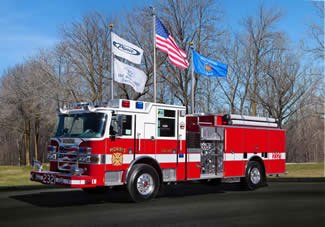 Morris IL Pierce Arrow XT pumper