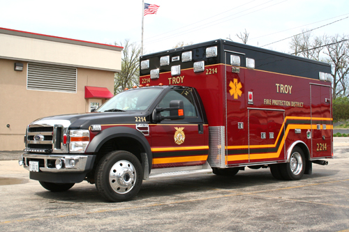 Troy FPD, Shorewood, IL 2010 Ford Medtec MICU