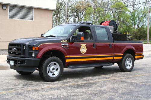 Troy FPD, Shorewood, IL Brush 2228