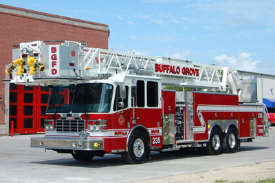 Buffalo Grove Ferrara Inferno Tower Ladder