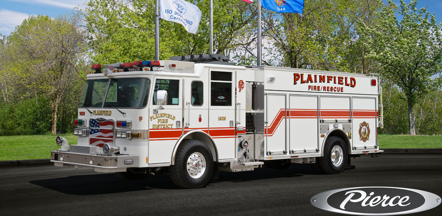Plainfield Pierce Arrow XT PUC pumper tanker