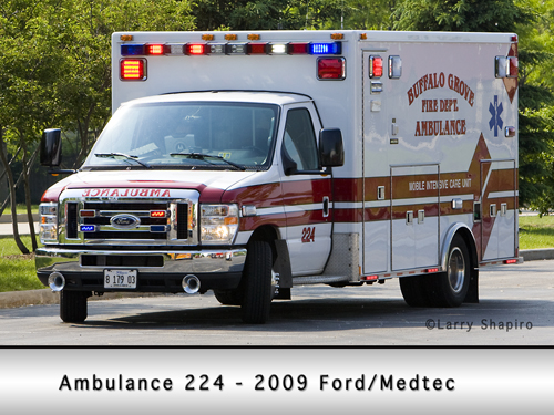Buffalo Grove Ambulance 25