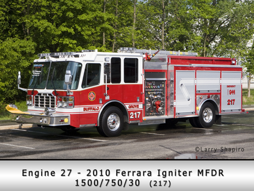 Buffalo Grove Fire Department Ferrara Igniter pumper