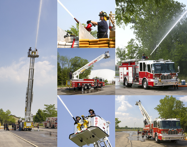 Buffalo Grove Fire Department Ferrara training