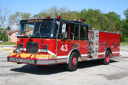 Dixmoor IL engine 43 formerly Chicago Engine 30