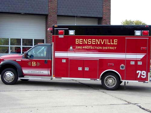 Bensenville Medtec ambulance