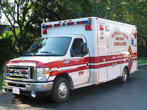 Buffalo Grove Fire Department Medtec ambulance