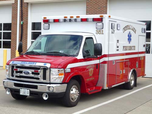 Crystal Lake FD Medtec ambulance