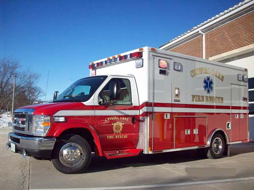 Crystal Lake Fire Department Medtec ambulance