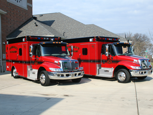 Downers Grove Fire Department Medtec ambulances