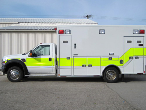 Medtec ambulance Fox Lake Fire Department
