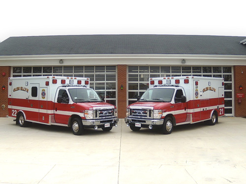 Glen Ellyn VFD Medtec ambulance