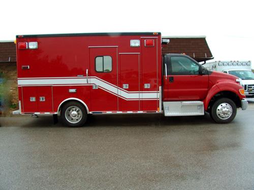 Hazel Crest FD Medtec ambulance