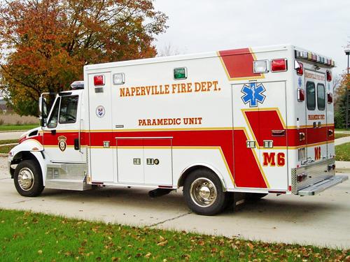 Naperville Medec ambulance