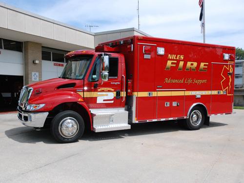 Niles FD Medtec ambulance