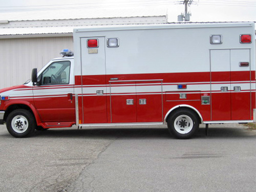 Prospect Heights FD Medtec ambulance