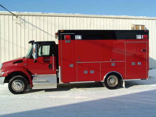 Sugar Grove Medtec ambulance