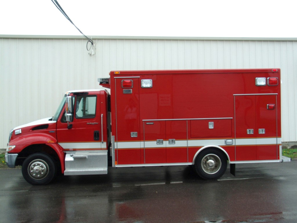 Waukegan FD Medtec ambulance