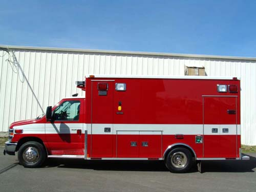 Wood Dale Medtec ambulance
