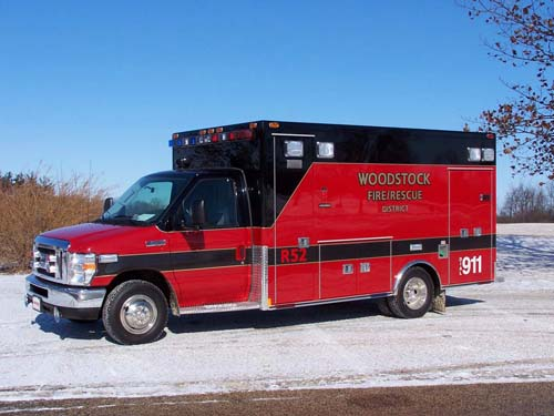 Woodstock FD Medtec ambulance