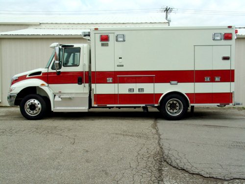 York Center FPD Medtec ambulance