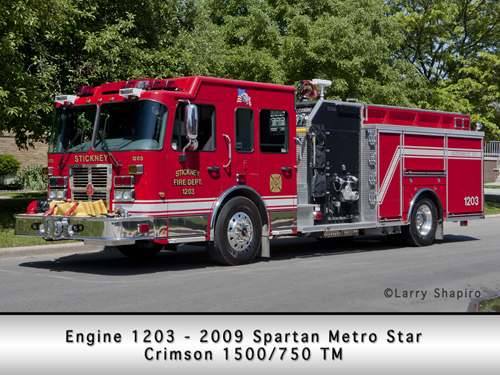 Stickney Spartan Metro Star Crimson engine