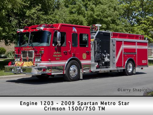 Stickney Spartan Metro Star Crimson engine