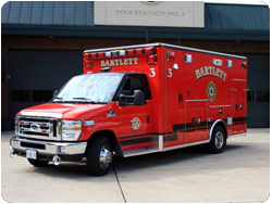 Bartlett FPD Wheeled Coach ambulance