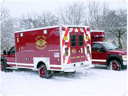Elgin Fire Department Wheeled Coach ambulances