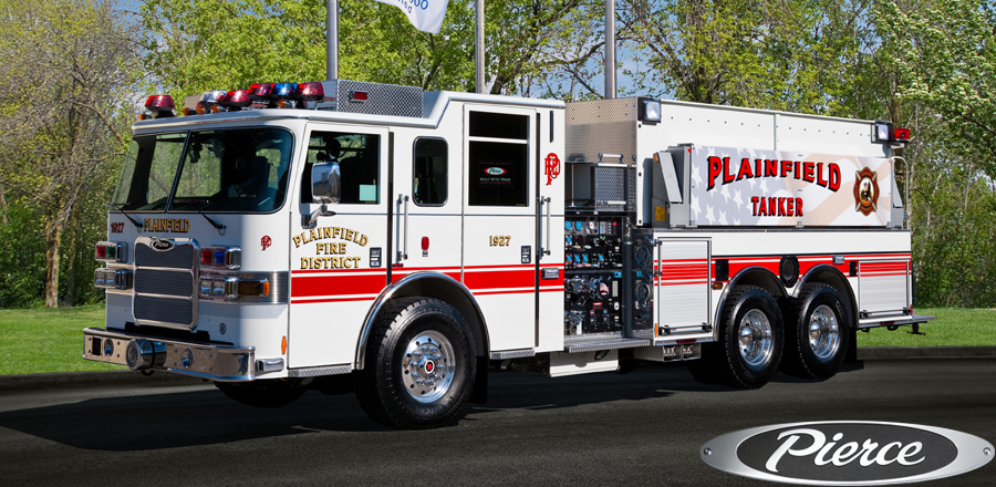Plainfield FPD Pierce Arrow XT pumper/tanker