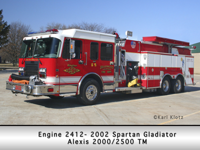 Braidwood FD Spartan Alexis engine