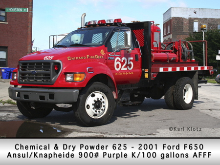 Chicago Fire Department chemical unit 625