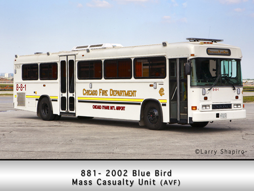 CFD O'Hare Mass Casualty Bus 881