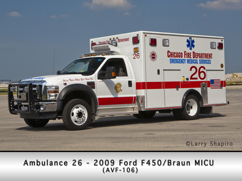Chicago Ambulance 26