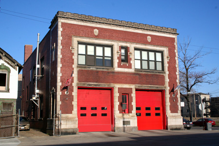 Chicago Fire Department engine 45 station