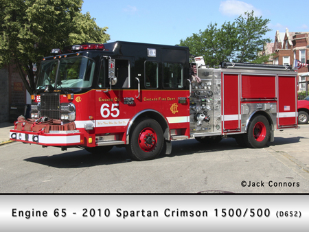 Chicago Fire Department engine 65