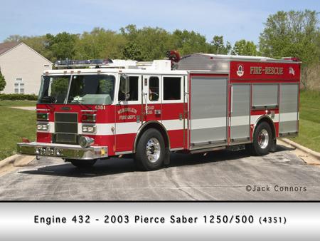 Mundelein FD Pierce Saber pumper/squad