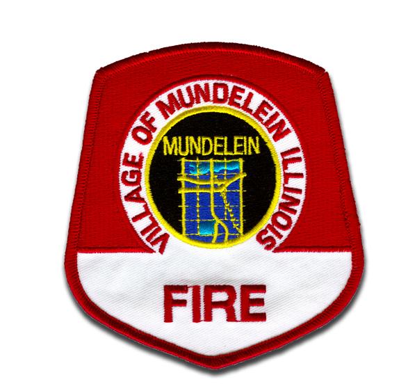 Mundelein Fire Department patch