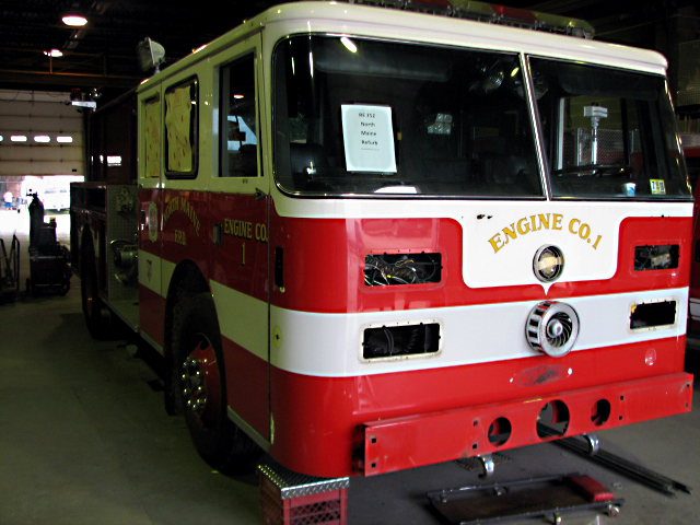 North Maine FPD Pierce Engine