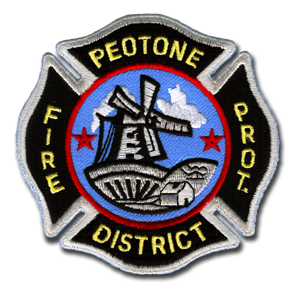 Peotone Fire Department patch