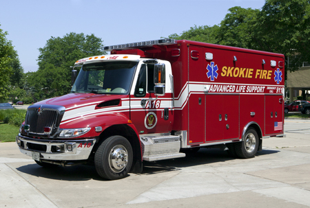 Skokie Ambulance 18 Horton Type I