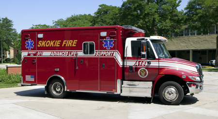 Skokie Ambulance 18