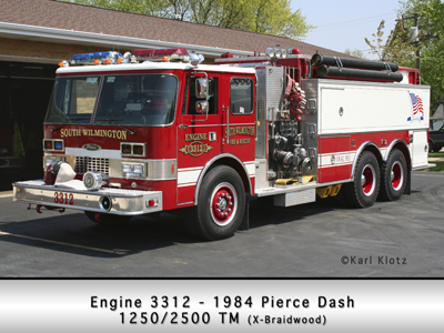 South Wilmington VFD pumper tanker